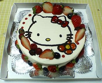 2歳のお誕生ケーキ